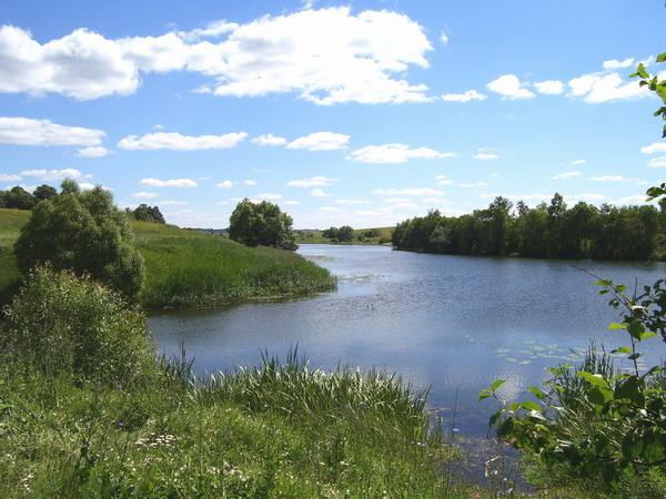 Река упа рядом с тем местом где должен